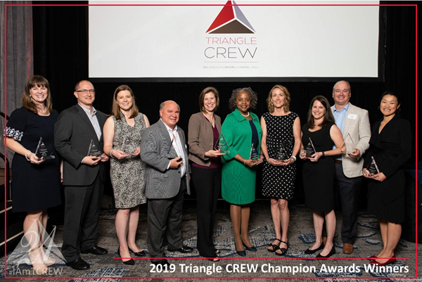 Congratulations to Kellie Ford of S&ME, Inc. for winning the the 2019 CREW Excellence Award at the TCREW Champion Awards.